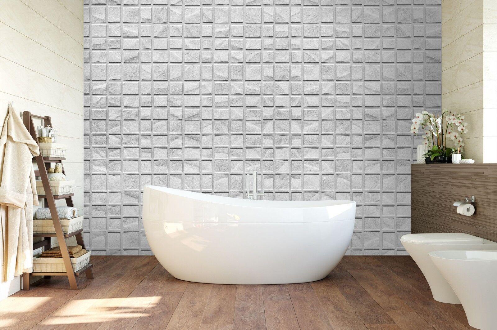 3d grigio pietre muro carta 3 texture piastrelle marmo muro carta