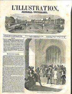 Election-Electeurs-Salle-de-Vote-Section-Parisiens-Ville-de-Paris-GRAVURE-1848