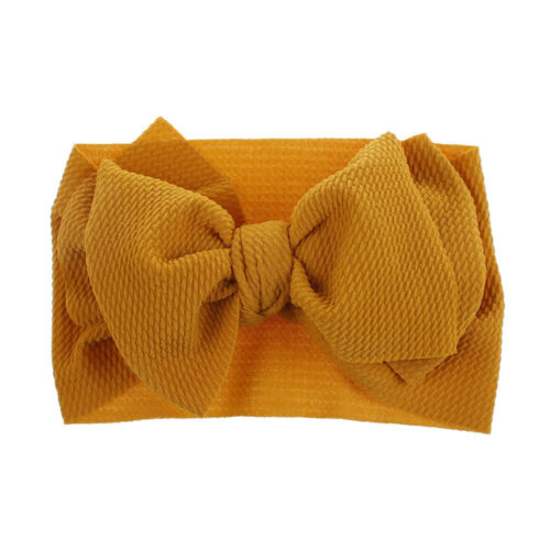 Baby// Girls Kids Infant Toddler Bow Hair Band Headband Turban Head-Wrap Headwear