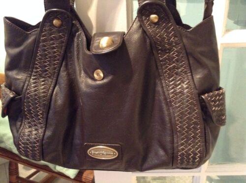 Wright Genuine Bag Fenn Brown Leather Mason HTwqWRaW6