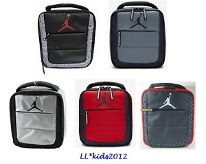 5f02f98cb89 Air Jordan Jumpman Insulated Soft School Lunch Tote Bag Box NWT   eBay