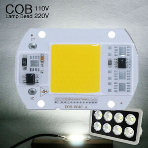 10pcs-High-Power-LED-Lamp-Floodlight-COB-SMD-Bulb-Chip-DIY-20W-50W-110v-220v
