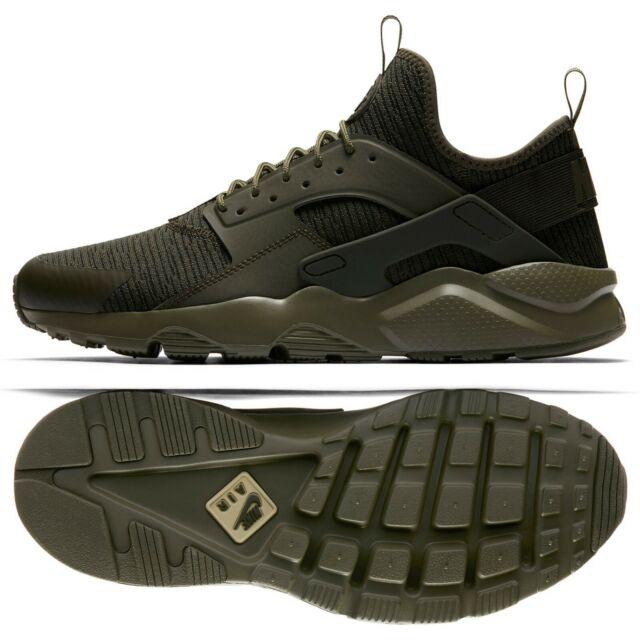 178e77cbf78f8 Nike Air Huarache Run Ultra SE 875841-303 Cargo Khaki Sequoia Men s Shoes Sz