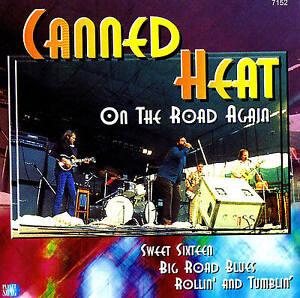 CANNED-HEAT-034-On-The-Road-Again-034-Top-Album-CD-NEU-amp-OVP