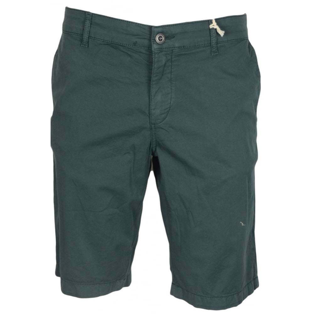 Franklin & Marshall MF180 Leo Skinny Fit Jungle Grün Shorts  | Ausgezeichneter Wert