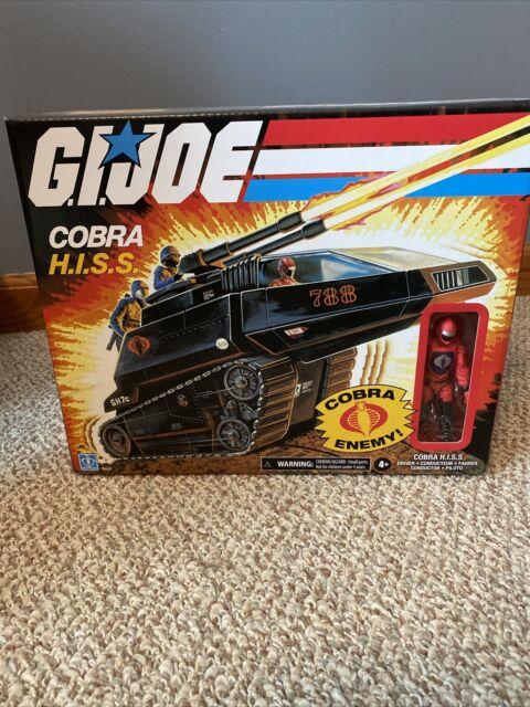 Hasbro G.I. Joe Cobra Hiss Tank with 3.75 inch Driver Action Figure