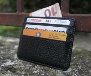Portafoglio-Uomo-Documenti-Porta-Carte-Di-Credito-Fermasoldi-Tessera-Wallet