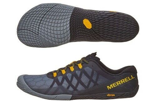 f933cc861fd Merrell Men's Vapor Glove 3 Trail Running Shoes Dark Grey US 9 M J09681