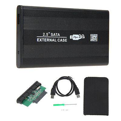 "USB 3.0 SATA 2.5"" inch HD HDD Hard Disk Drive Enclosure External Case Box"