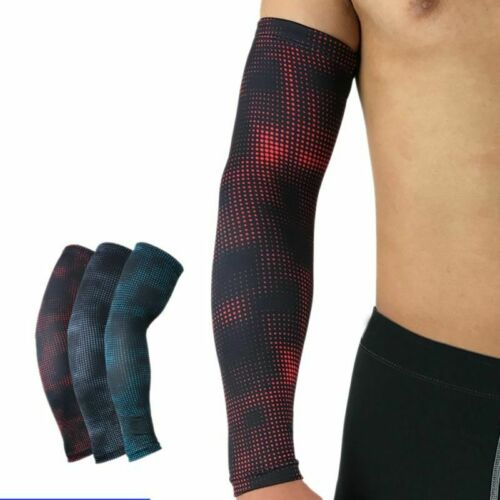 1Pc Arm Cycling Uv Protection Warmers Sun Bicycle Cover Sleeve Cuff Men Cover