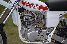 Stainless Braided Dual Feed Rocker Oil Line Yamaha SR500 XT500 TT500 HL500 SR400