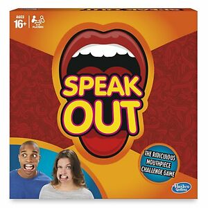 Officiel hasbro speak out Speakout board parti protège-dents embout jeu 							 							</span>