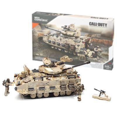 New Mega Construx Call Of Duty Desert Tank Construction Set Building Official