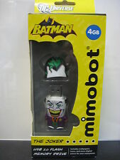 NEW The Joker 4GB Flash Drive USB Thumb Memory Batman Collection MIMOCO DC Comic