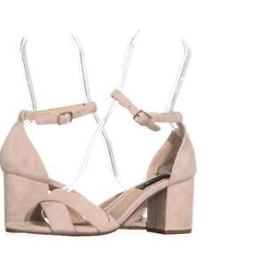 c82ac96f495 Image is loading STEVEN-Steve-Madden-Voomme-Dress-Sandals-426-Pink-