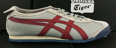 Asics Onitsuka Tiger Mexico 66 MenWomen Casual Shoes GreyBurgundy D4J2L 1325 H | eBay