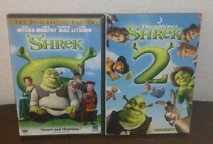 Shrek And Shrek 2 Dvd S Ebay