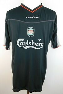 premium selection 25aea 4cf56 Men's Reebok Carlsberg Liverpool Football Club VNeck Jersey ...