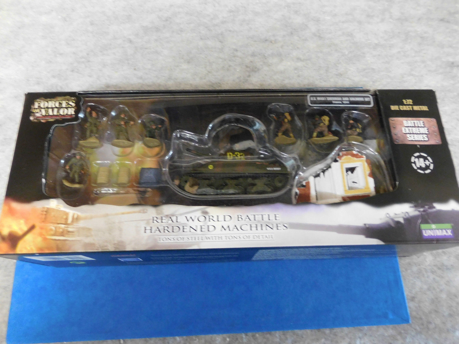 Forces of Valor 85091 Sherhomme with figurines  - 1 72 - nouveau & OVP  service attentionné