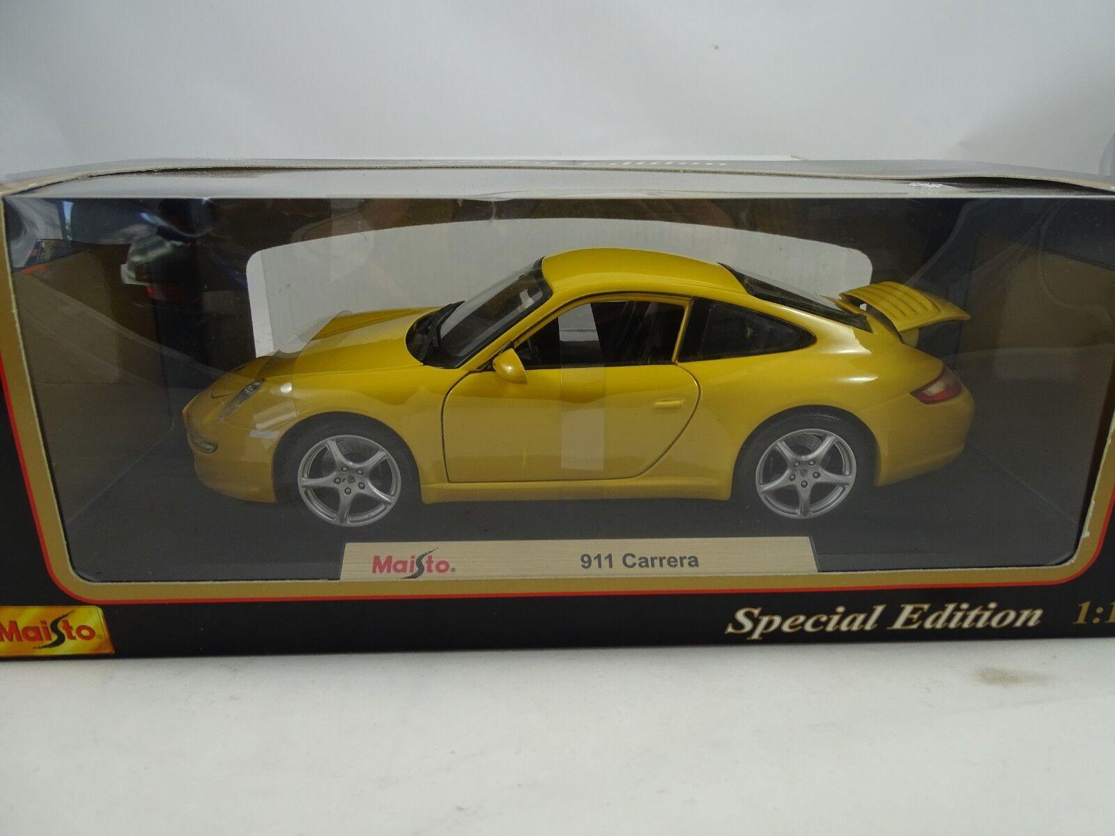 sconto prezzo basso 1 18 MAISTO specialeee edizione    31691 PORSCHE 911 autorera gituttio-rarità    profitto zero
