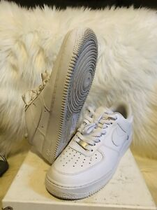 Nike 315122 111 Air Force One 1 Af 1 Low Cut Mens Size 9 5 Triple