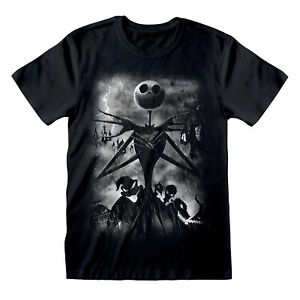 Official-Nightmare-Before-Christmas-Stormy-Skies-T-Shirt-Jack-Skellington-Burton