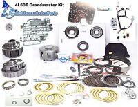 2002 4l60e Complete Grand Master Upgraded Performance Transmission Rebuild Kit