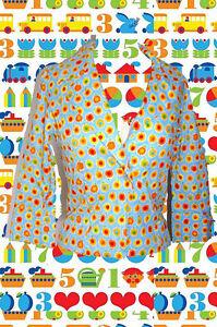 G1-Woodstock-Blumen-Jacke-70er-Jahre-Prilblumen-Hippie-Flower-Power-Gr-S