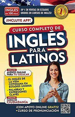 Libros Cursos Para Aprender Ingles Para Latinos En Poco Tiempo 100 Dias Vendido Ebay