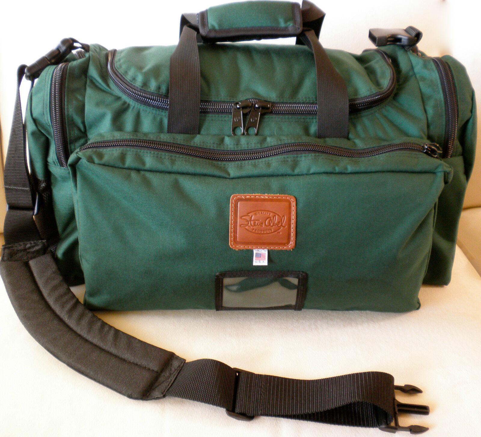 STEVE ABEL FLY FISHING 10 DAY TRAVEL BAG DUFFLE by creator of ABEL REELS
