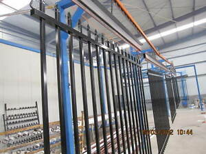 Security Fence Tubular Fencing Steel Spear Top Black