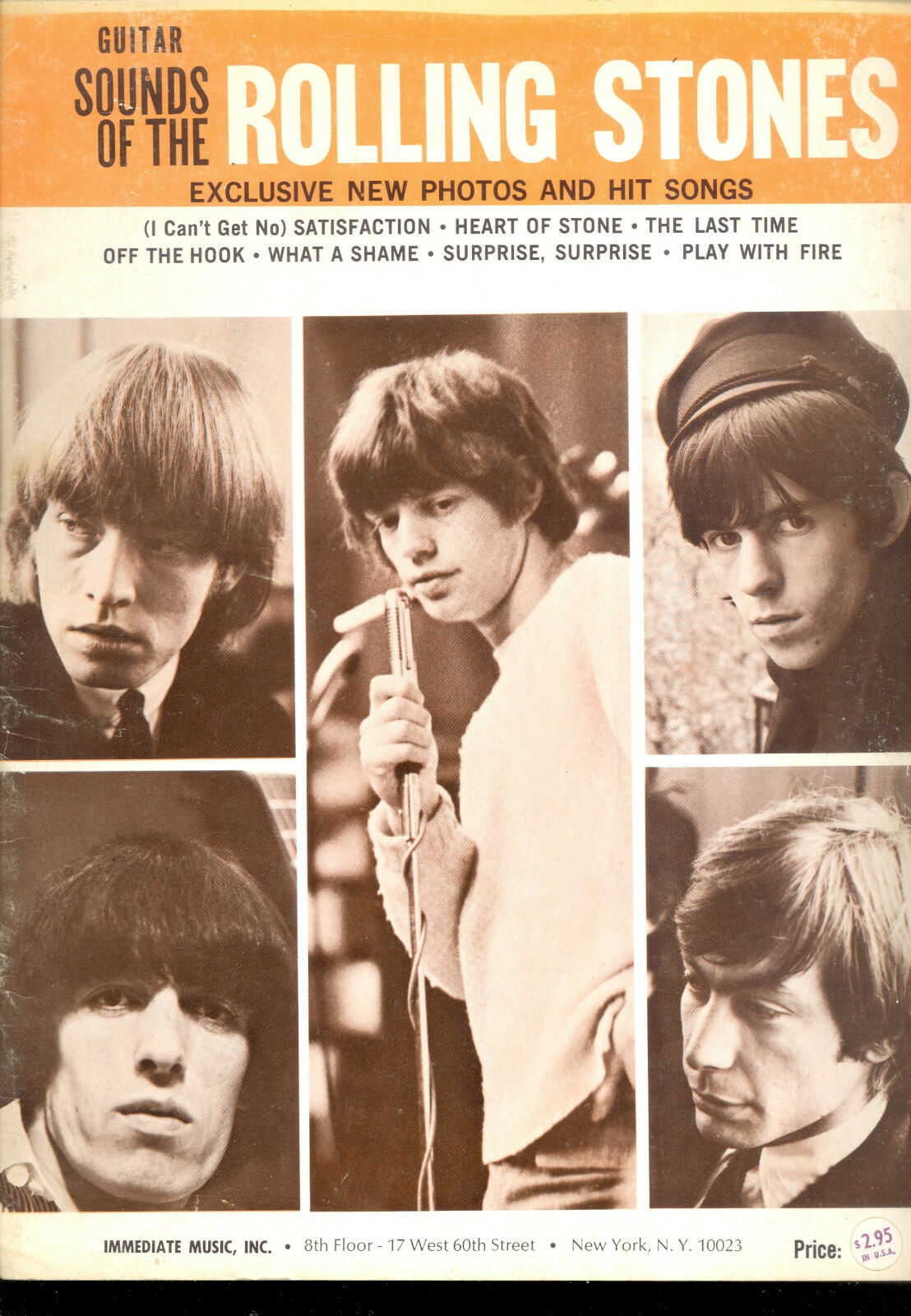 The Rolling Stones Lied Buch   Sounds Of The Rolling Stones   1965 Frühen 7