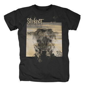 SLIPKNOT-All-Out-Life-Glitch-T-Shirt