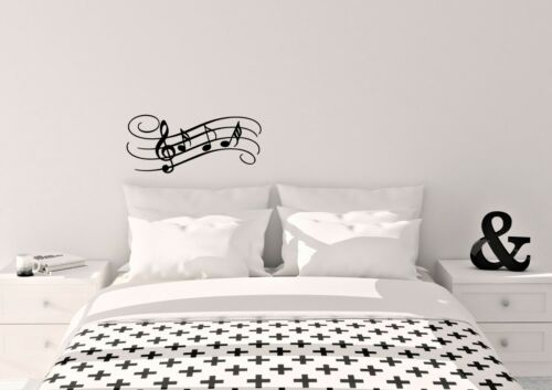 Musical Notes Inspired Design Home Decor Wall Art Decal Vinyl Sticker