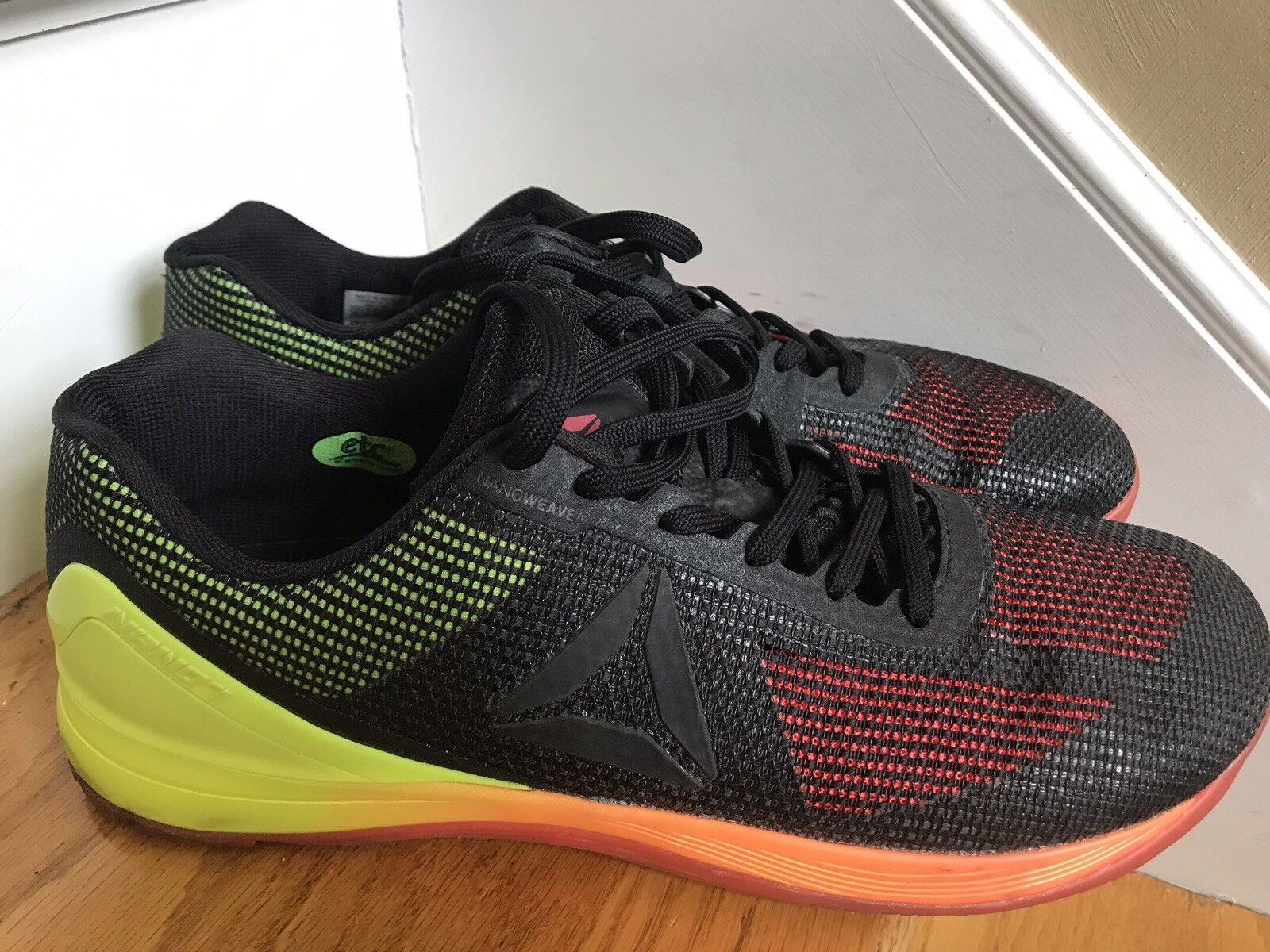 Reebok  Cross Fit Nano 7 shoes Size 14M ECU Boho Retro Workout Fitness ECU