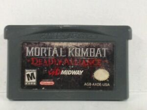 Details about MORTAL KOMBAT DEADLY ALLIANCE Gameboy Advanced GBA Acceptable