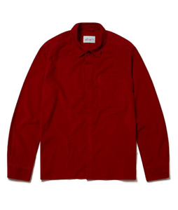 Albam-cordWainers-Shirt-RED-mens-Clothing-UK-Size-S-REF160