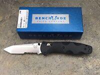 Benchmade Barrage 583s Knife Osborne Design Tanto Blade Assist Comboedge