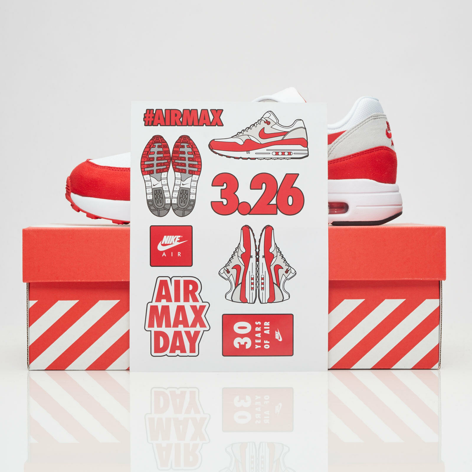 Nike Air Max 1 Ultra 2.0 RED size 11.5. 908091-100. Red Grey White. AM Day. OG Casual wild