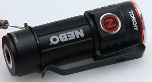 NEBO NEB-FLT-0001 Torchy 1000 Lumen LED Flashlight USB rchg AC Charger 92116