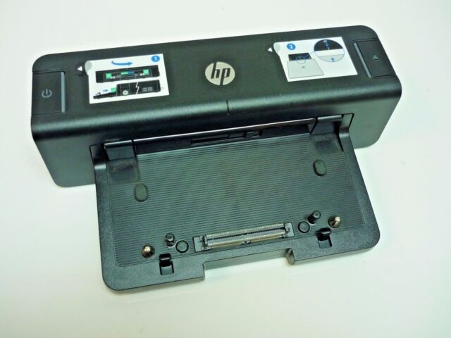 New HP EliteBook 8470w USB 3.0 HSTNN-I11X Dock Docking Station Port Replicator