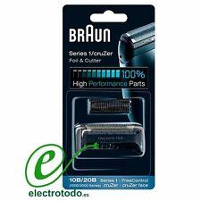 Braun Recambio Afeitadora Combi Pack 10B / 20B Freecontrol 1000 / 2000 Series
