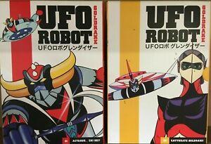 YAMATO-VIDEO-UFO-ROBOT-GOLDRAKE-DVD-VOLL-1-2-BOX-ORIGINALE-ITALY
