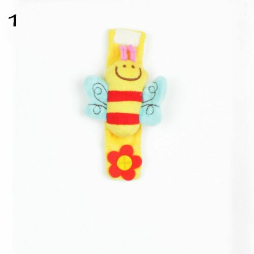 New Animal Gifts Lovely Soft Rattles Doll Wrist Strap Toy Plush