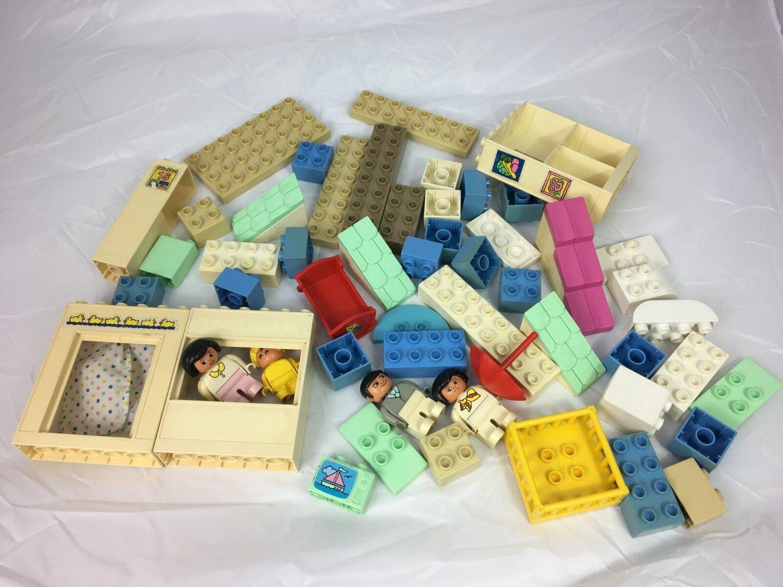 Duplo Lego 2794 My Family House Spares plus baby extras Vintage