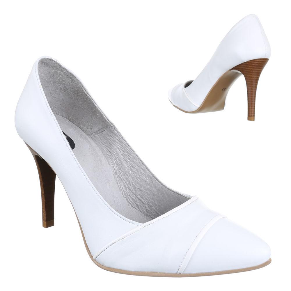 Nouveau Chaussures Femmes Escarpins ms85 cuir cuir cuir talons hauts eda9d5