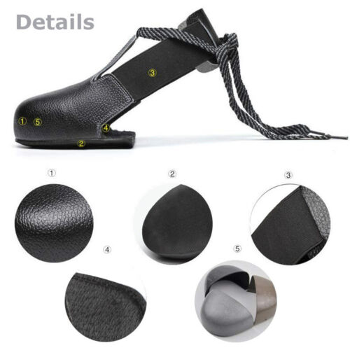 New Cover As Safety Shoes Steel Toe  Anti-smash Shoes Cap Footwear Fits All