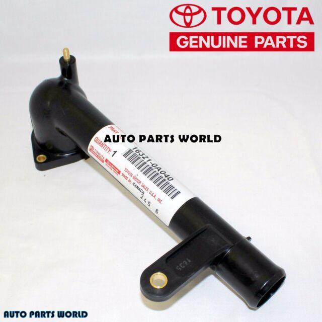 04-06 Sienna Water Inlet Pipe New genuine Toyota OEM 16321-0A040 /& Lexus RX330