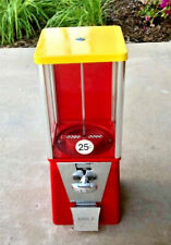 Oak Amp Eagle Red Bulk Candy Vending Machine Cleanedtested 1key Avg Condition