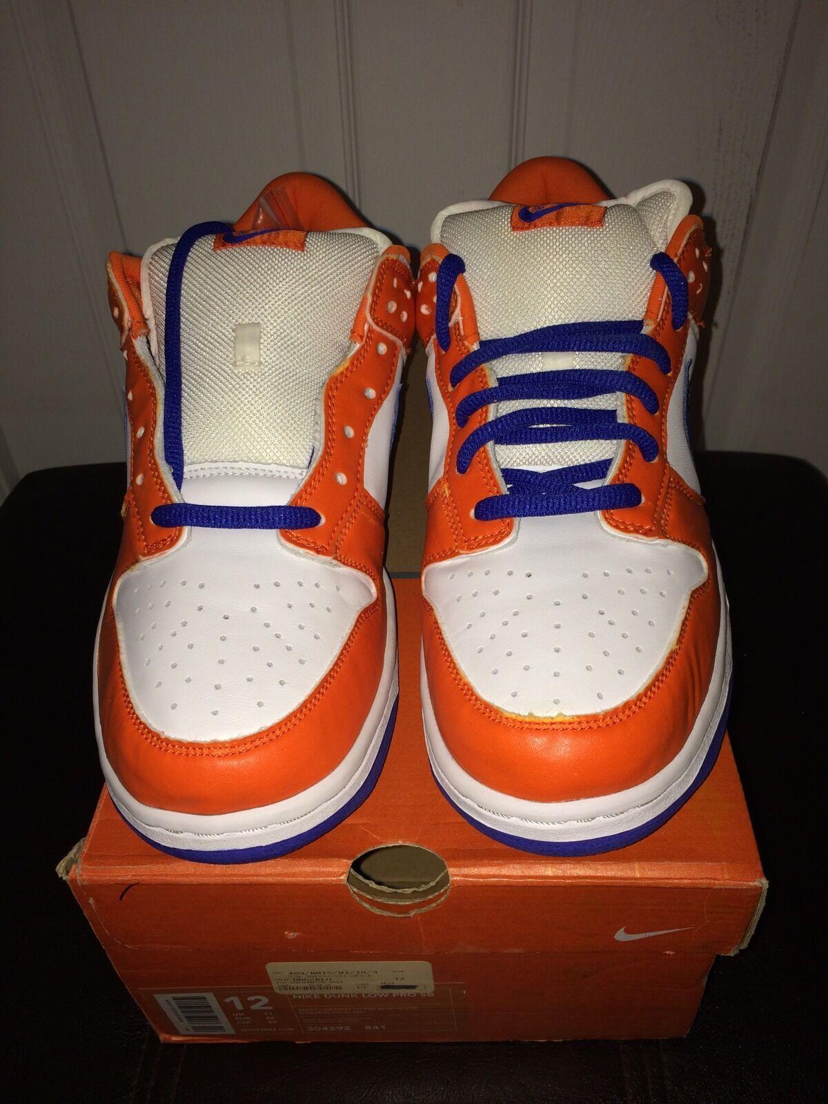 Nike e basso (sb / 2002 danny supa royal / (sb orange sz 12 8036e4